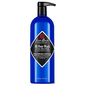 Best Face Wash For Men With Acne Jack Black All-Over Wash for
