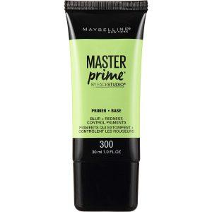 Maybelline Master Primer, Blur + Redness Control