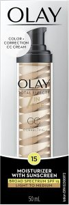 Olay Total Effects Tone Correcting CC Cream with Sunscreen SPF 15