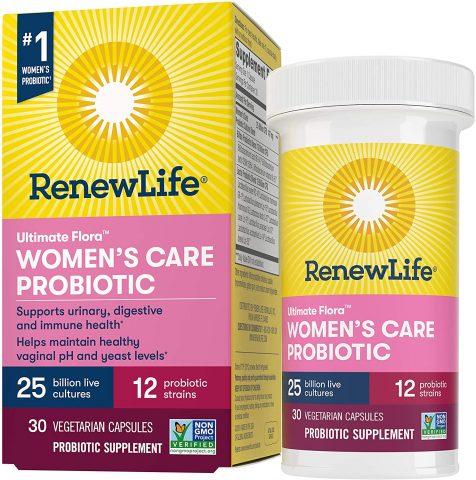 Renew Life Women's Care Probiotics